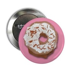 "Donut 2.25"" Button"