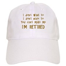 You Cant Make Me! Baseball Cap