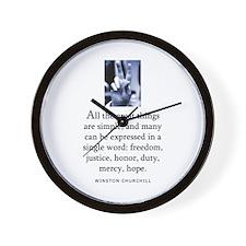 Great things Wall Clock