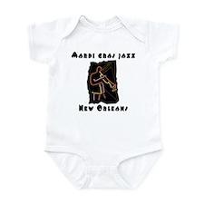 Mardi Gras Jazz Infant Creeper