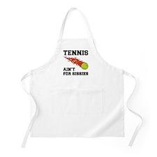 Tennis Ain't For Sissies BBQ Apron