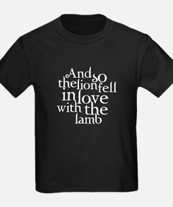 Lion fell in love with lamb T