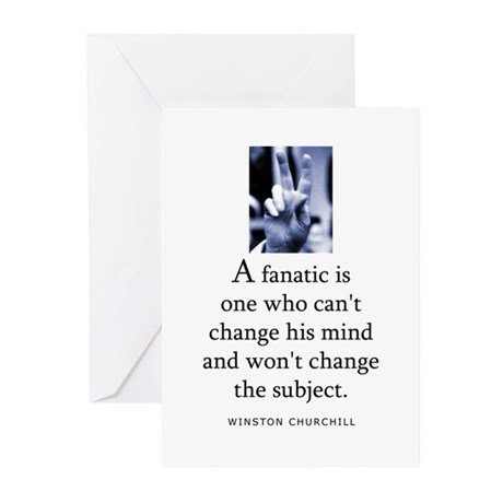 A fanatic Greeting Cards (Pk of 10)