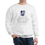 An optimist Sweatshirt