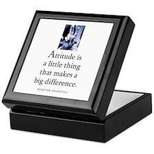 Attitude is Keepsake Box