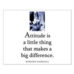Attitude is Small Poster