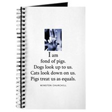 Fond of pigs Journal