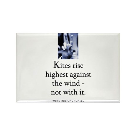Kites rise Rectangle Magnet
