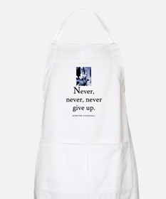 Never give up BBQ Apron