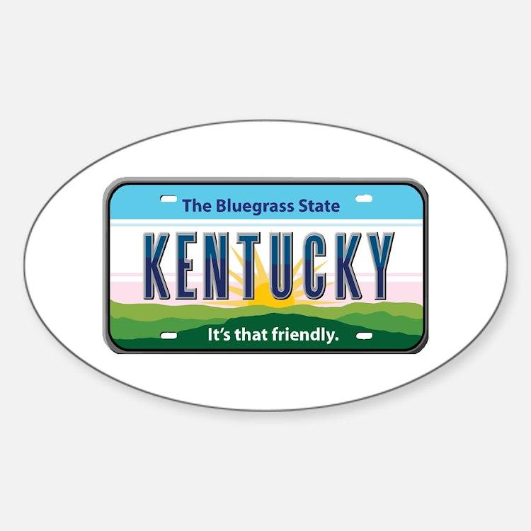 Kentucky Oval Decal