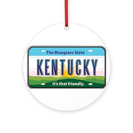 Kentucky Ornament (Round)