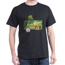 Kentucky Map T-Shirt