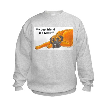 BF Mastiff Kids Sweatshirt