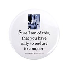 "Sure I am 3.5"" Button (100 pack)"