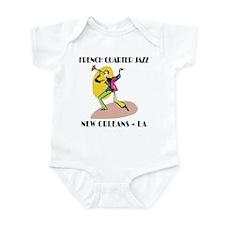 French Quarter Jazz Infant Creeper