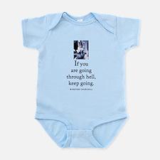 Through hell Infant Bodysuit