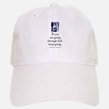 Through hell Baseball Baseball Cap