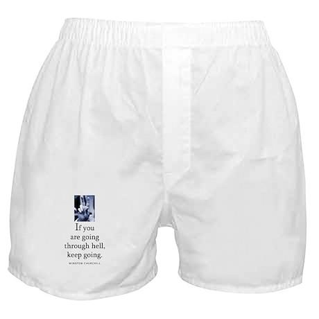 Through hell Boxer Shorts