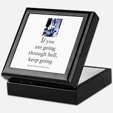 Through hell Keepsake Box