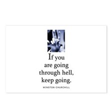 Through hell Postcards (Package of 8)