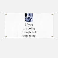 Through hell Banner