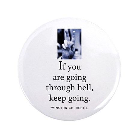 """Through hell 3.5"""" Button (100 pack)"""