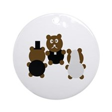 wedding day Ornament (Round)