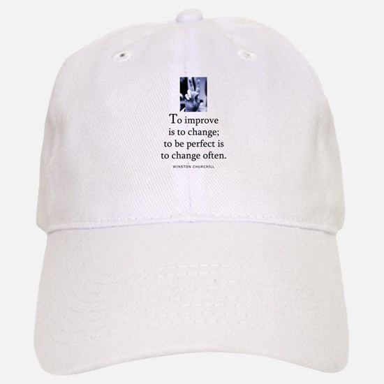 To improve Baseball Baseball Cap