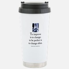To improve Stainless Steel Travel Mug