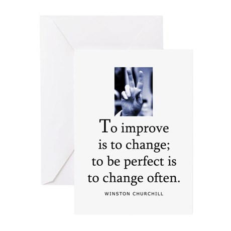 To improve Greeting Cards (Pk of 10)