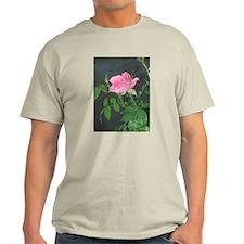 Dewy Pink Rose T-Shirt