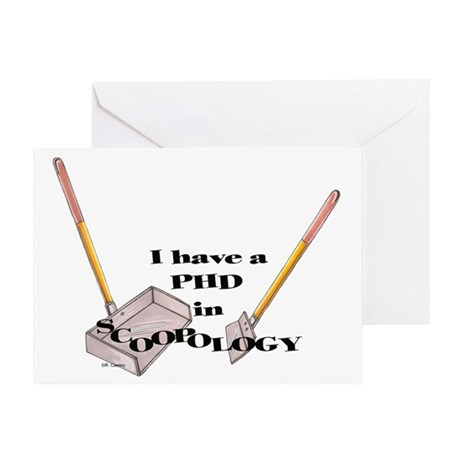 PHD Scoopology Greeting Card