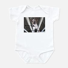 My Dog is A.K.C. Infant Bodysuit