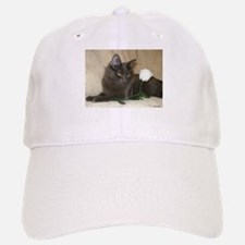 Rose Kitty1 Baseball Baseball Cap