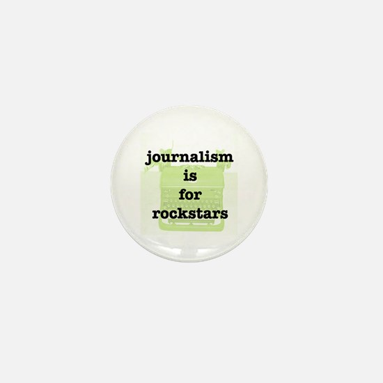 Journo Rock Mini Button