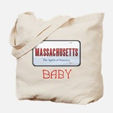 Massachusetts Baby Tote Bag