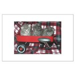 Wagonful of Kittens Large Poster