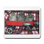 Wagonful of Kittens Mousepad