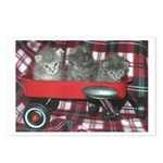 Wagonful of Kittens Postcards (Package of 8)