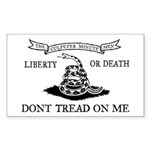 Culpeper Flag Rectangle Sticker