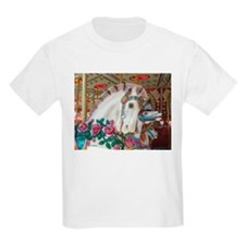 Roached & Roses Carousel Hors T-Shirt