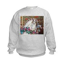 Roached & Roses Carousel Hors Sweatshirt