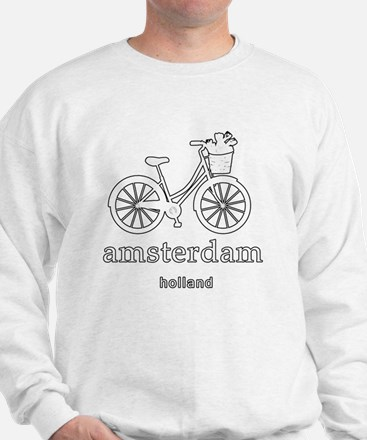 Cute Bicycle in amsterdam Sweatshirt