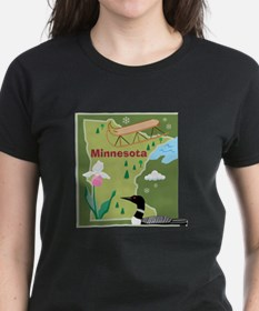 Minnesota Map Tee