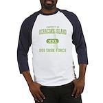 Ocracoke Island DUI Task Force Baseball Jersey