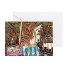 Tassels Carousel Horse Greeting Card