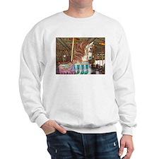Tassels Carousel Horse Sweatshirt