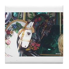 Ebony/Ivory Tile Coaster