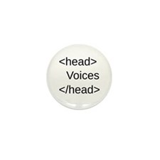 Funny HTML Code Mini Button (10 pack)