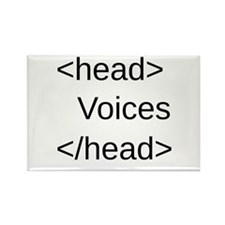 Funny HTML Code Rectangle Magnet (100 pack)